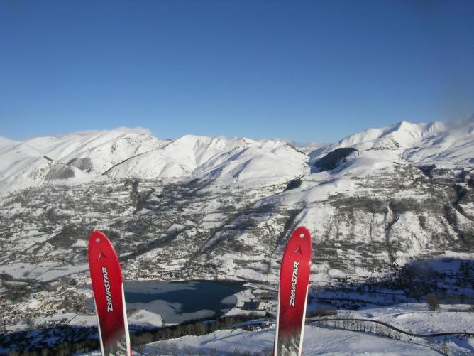 Skier et ...voler
