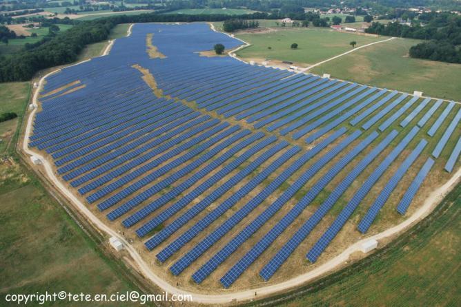 Usine solaire