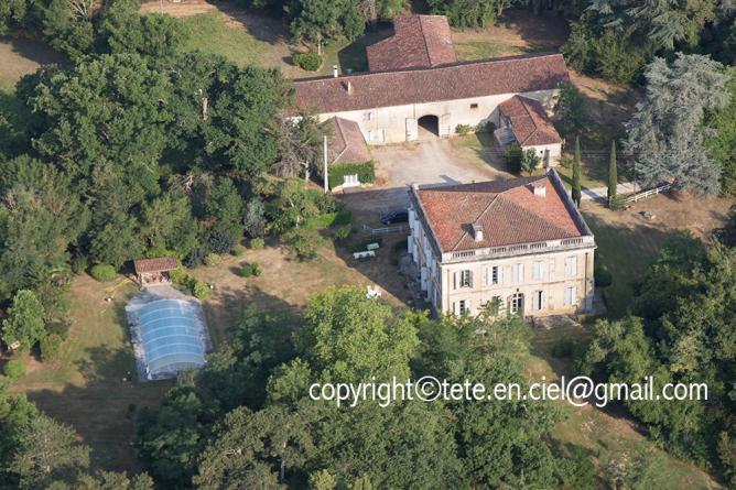 Château de la Lauze à Belmont