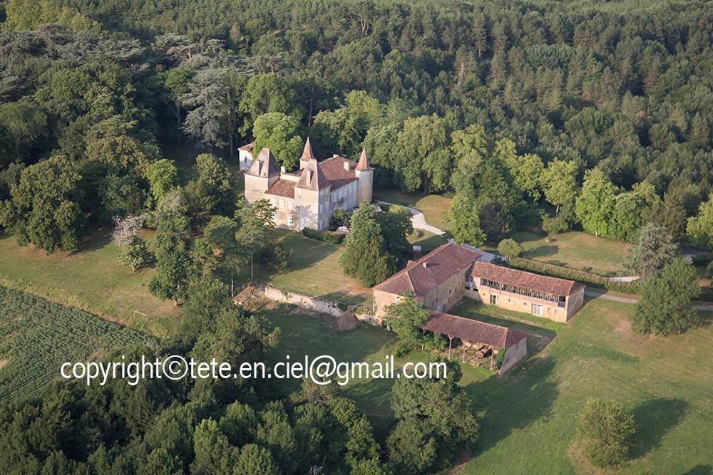 Château de Castelmore (commune de Lupiac)