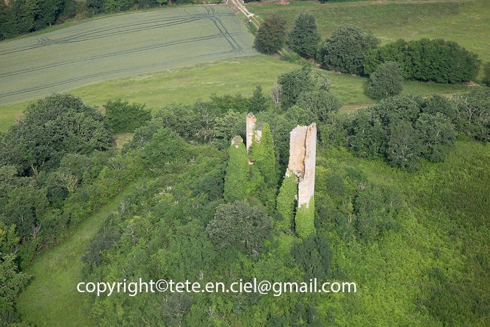 Vestiges du château de Monlezun