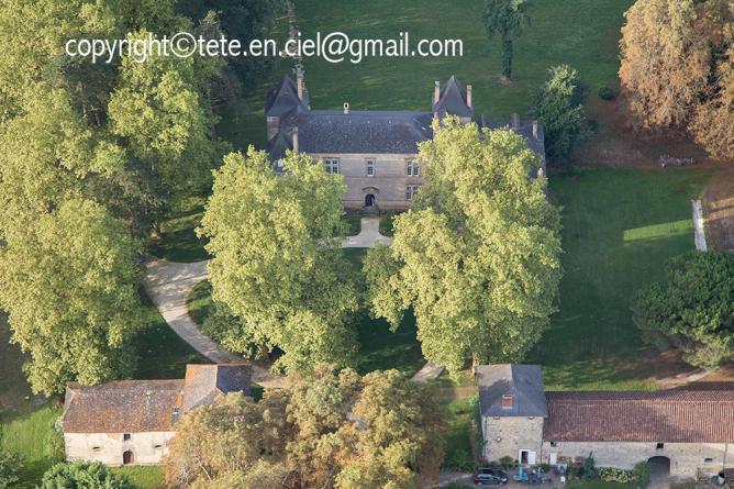Château de Montluc à Saint-Martin-d'Armagnac